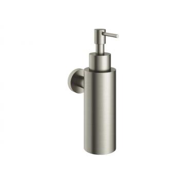 Hotbath Cobber zeepdispenser wandmodel 17,8 x 5 x 10,9 cm, geborsteld nikkel