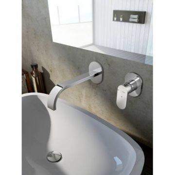 Hotbath Friendo cascade uitloop 25 cm, chroom