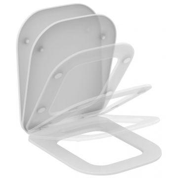 Ideal standard Tonic ii toiletzitting met deksel en softclose, wit
