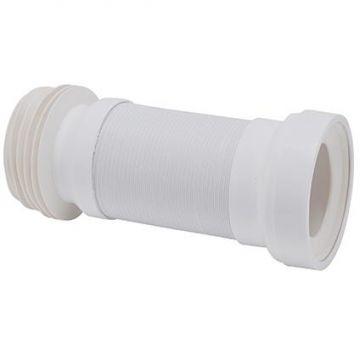 Wisa Flexicon flexibele afvoerslang diameter 11 cm, wit