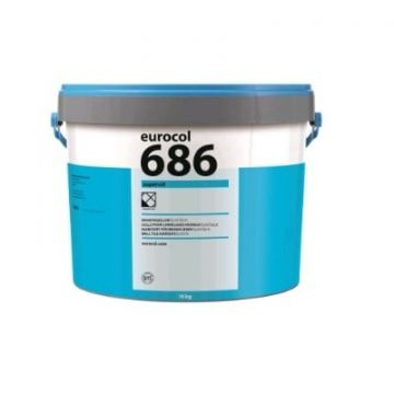 Eurocol Supercol pasta tegellijm emmer à 18 kg.