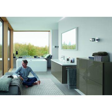 Duravit P3 Comforts bad 180x80 cm met frontpaneel, wit