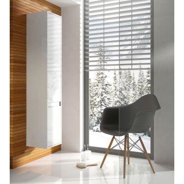 Sub kolomkast 160x35x28,4 cm rechtsdraaiende deur, wit