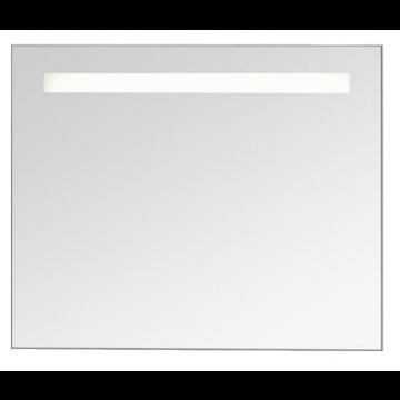 Sub 130 spiegel met verlichting met sensor en verwarming 80x80 cm