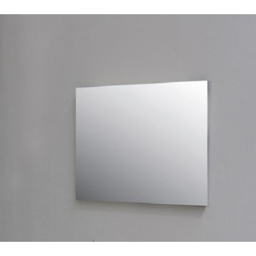 Sub spiegel rechthoek 80x3x80 cm, aluminium