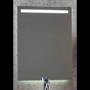 Sub 130 spiegel 80x80cm met sensor en indirecte verlichting boven