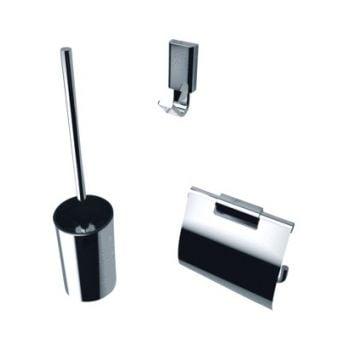 Geesa Aim accessoires pack 918408-918411-918413-02+borstel, chroom