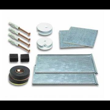 Plieger Safemax 16 ophangset verdekt voor spiegel met magneetbevestiging 20 cm tot max. 1,6 m2