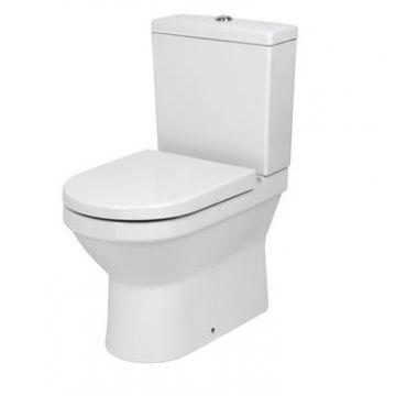 Plieger Compact WC-pack duoblokcombinatie diepspoel dualflush met toiletzitting AO/PK, wit