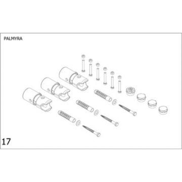 Plieger Palmyra bevestigingsset designradiator, wit