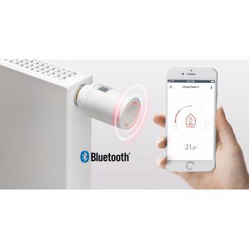 Danfoss Eco™ radiator thermostaat met Bluetooth-bediening, wit