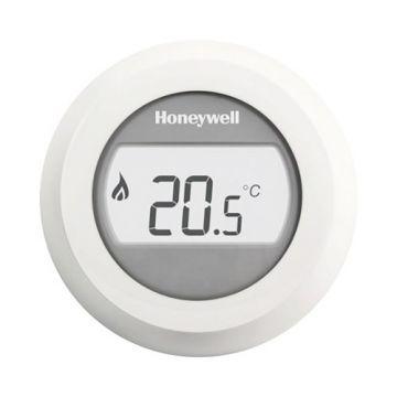 Honeywell Round On/Off kamerthermostaat aan/uit 24V, wit