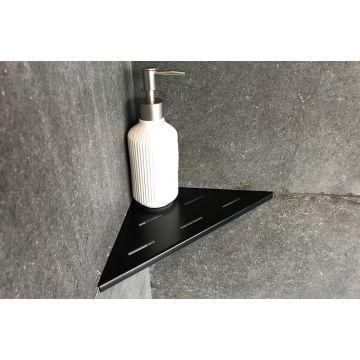 LoooX Corner Shelf hoekplanchet 30x22 cm, matzwart