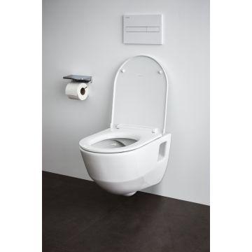 Laufen PRO Pack hangend toilet diepspoel niches, met toiletzitting SlimSeat softclose, wit