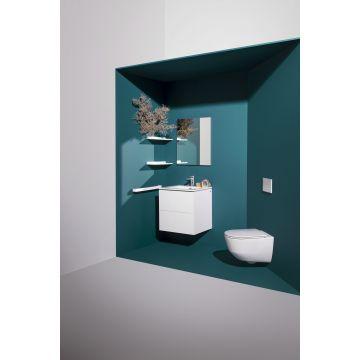 Laufen PRO Pack hangend toilet diepspoel rimless, met toiletzitting SlimSeat softclose, wit