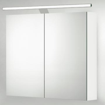 Sub 129 LED-verlichting voor spiegelkast met driver 100 cm, chroom