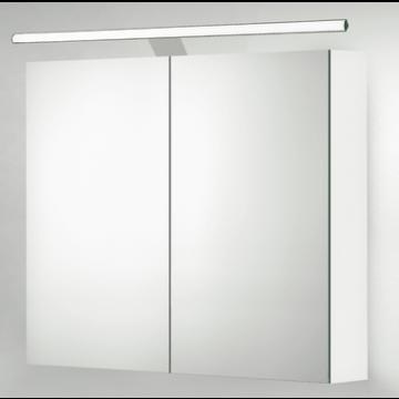 Sub 129 LED-verlichting voor spiegelkast met driver 120 cm, chroom
