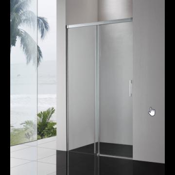 Sub 065 softclose schuifdeur 110x200 cm, zilver glans-helder clean