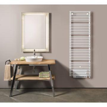 Vasco Agave HR-EL-BL elektrische radiator met blower 600x1874 mm n37 2250w, wit