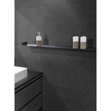 LoooX Shelf inbouw planchet 30x10 cm, mat zwart