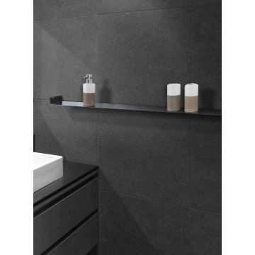 LoooX Shelf inbouw planchet 60x10 cm, mat zwart