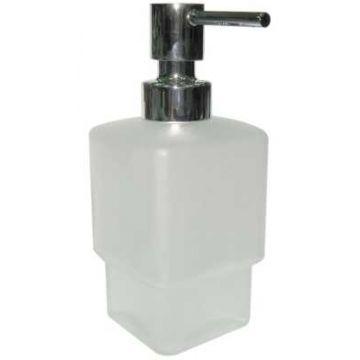 Sub Line flacon en pomp voor zeepdispenser, glas/chroom