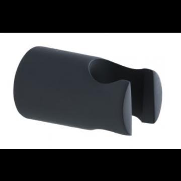 Sub 195 wand handdouchehouder, mat zwart
