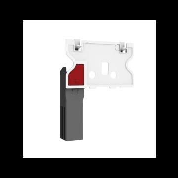 Sub 012 toiletblokhouder voor reservoir, wit/grijs