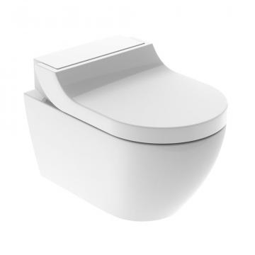Geberit AquaClean Tuma Classic hangend toilet met douche wc-zitting, wit