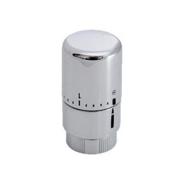 Zehnder radiatorthermostaatknop recht, chroom