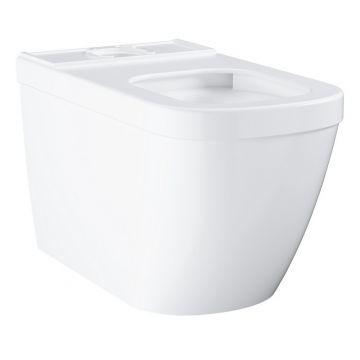 GROHE Euro Ceramic staande duoblokcombinatie randloos PureGuard PowerFlush, Alpine Wit