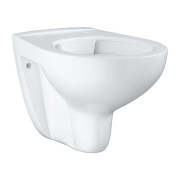 GROHE Bau Ceramic hangend toilet randloos, Alpine wit