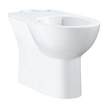 GROHE Bau Ceramic staand toilet randloos AO met bevestigingsset, Alpine wit