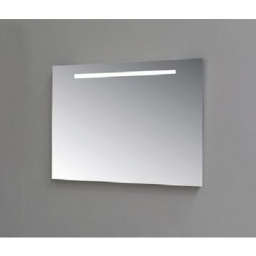Sub Top spiegel rechthoek geintegreerde ledverlichting 60x3x60cm, aluminium