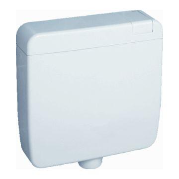 Rezi opbouw spoelreservoir Ergonoom, wit, (hxb) 410x440mm, spoelreservoir kunststof