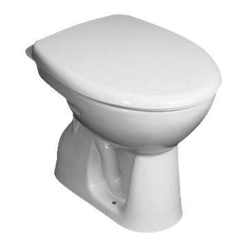 Jika Euroline staand toilet (ao) 390 x 355 x 480 mm, wit