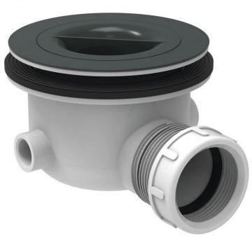 Ideal Standard Ultra Flat doucheafvoer met sifon, grijs