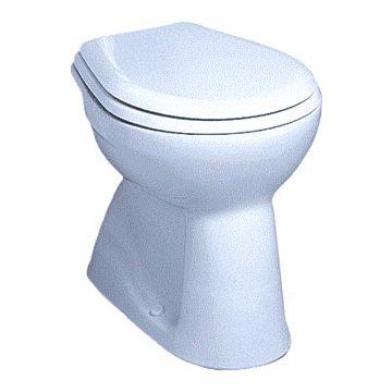 Geberit Delta staand toilet, keramiek, 90x355x460 mm, wit