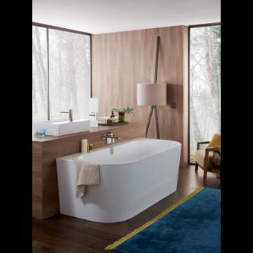 Villeroy & Boch Oberon 2.0 ligbad rechthoekig met paneel 180x80 cm, wit