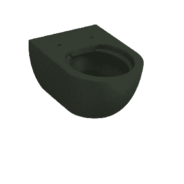 Sub 010 hangend toilet spoelrandloos, schoolbord