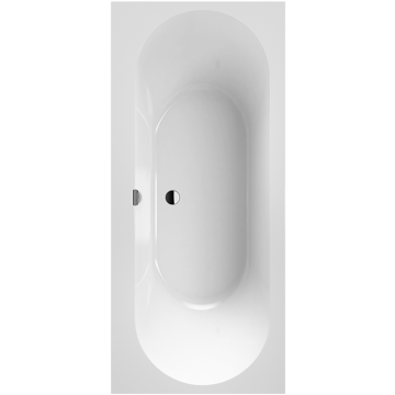 Villeroy & Boch Oberon 2.0 ligbad rechthoekig 180x80 cm, wit