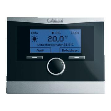 Vaillant calorMATIC 370 ruimteklokthermostaat, zwart