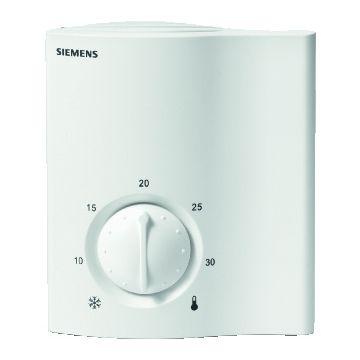 Siemens ruimtethermostaat Aan/Uit RCU10, wit