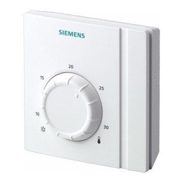 Siemens ruimtethermostaat Aan/Uit RAA21, helder-wit