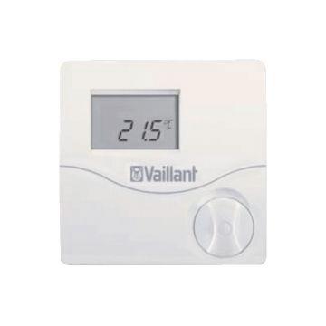 Vaillant calorMATIC VRT50 kamerthermostaat merkgebonden 24V met draaiknop, wit