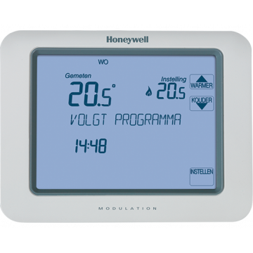 Honeywell Chronotherm Touch Modulation klokthermostaat Modulation/OpenTherm, wit