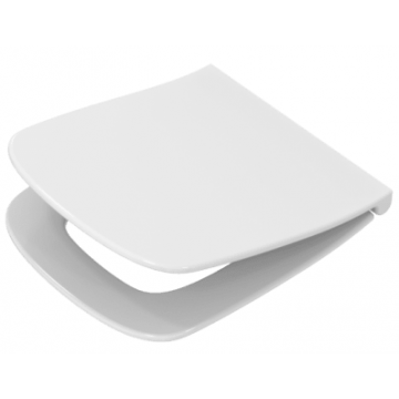 Pagette Slim DS toiletzitting met softclose en quickrelease, wit
