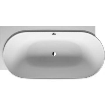Duravit Luv bad links 185x95 cm met naadloze ommanteling, wit
