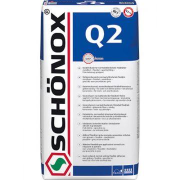 Schonox Q2 q2 afbindende flexlijm zak a 25 kg, wit
