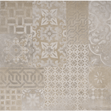 Sub 1752 keramische decortegel 60x60 cm, cementine